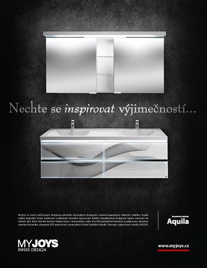 Luxusní koupelnový nábytek – inzerát